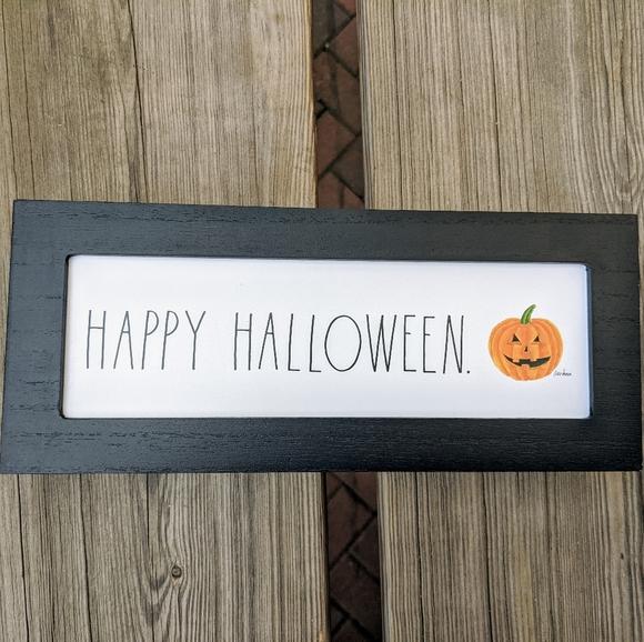Rae Dunn Other - RAE DUNN Happy Halloween Wooden Sign NWT